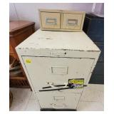 Columbia Filing Cabinet, metal 2 Drawer Container