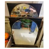 Lot of 2 Antique Mirrors