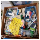 Box of Wire Wreath Form, Crafting Supplies