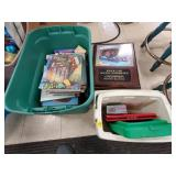 Lot of Assorted Books, Games, Dishware