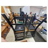 Lot of 4 Stools, AS IS