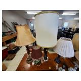 Large Lot of Assorted Lamps
