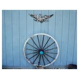 Wagon Wheel & Faded Eagle