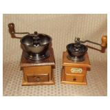 2 Reproduction Coffee Grinders