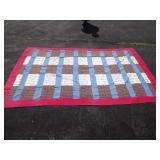 Handmade Hobo Quilt