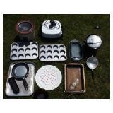 Crockpot, Muffin Pans, Bakeware Grouping