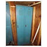 Blue School Locker
