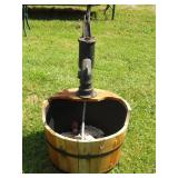 Outdoor Water Pump Fountain