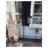 Shepherd Hook & Lantern Stand
