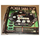 Poker Table Top Game