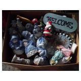Large Box of Christmas Decor