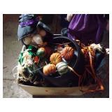 Halloween, witch pot, fall decor box