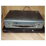 2 Toshiba DVD Players & GE VCR
