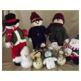 10 Snowmen Grouping