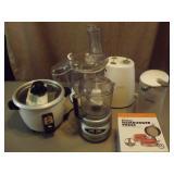Can Opener, Food Proccessor, Crock Pot Kitchenware
