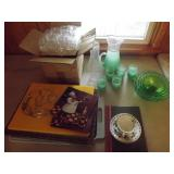 Bake Molds, Glasses & Pitcher, Assorted Items
