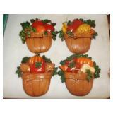 Cast Aluminum Fruit Basket