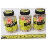 3- Containers of Ryobi Wood Biscuits