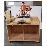 Blum Minipress P Door Hinge Machine