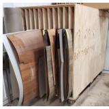 Heavy Duty Plywood Wood Stock Cart 8