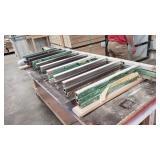 """3-Metal Lumber Racks 78""""t 2"""