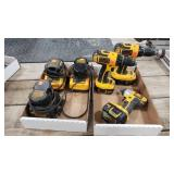 Dewalt Impact, 2-Drills, 3-Chargers- Some Good