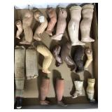 Lot of Miscellaneous Doll Legs