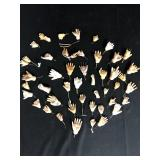 Lot of Miscellaneous Doll Hands