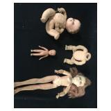 Lot - Miscellaneous Dolls