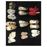 Lot - 10 Pair of Vintage Doll Shoes