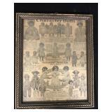 Framed 1915 Sears Catalogue Page