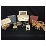 Lot of Miscellaneous Doll Furniture