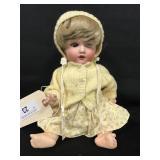 "12"" Nippon 76018 Bent Limb Baby Doll"
