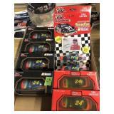 BX OF JEFF GORDON NASCAR COLLECTIBLE CARS