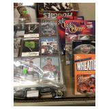BX OF NASCAR CARS & SPORTS CARDS