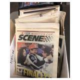 BINDERS OF ROCK N ROLL MUSIC & NASCAR NEWSPAPERS