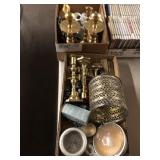 2 BX OF BRASS & OTHER ITEMS