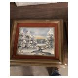 GROUP OF SMALL PICTURES & FRAMES