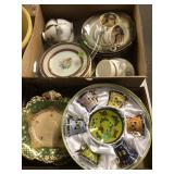 2 BX MISC. GLASSWARE & DISHES