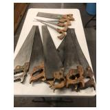 GROUP OF 11 SAWS