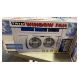 2 WINDOW FANS