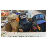 BOX W/ HARLEY DAVIDSON HATS
