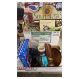 BOX OF BUDWEISER BEER STEIN, DECORATIVE ITEMS,