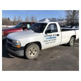 02 CHEVY 1500 2WD PICKUP W/ 257,882 MILES