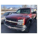 04 CHEVY 1500 EXT CAB 4X4 PICKUP W/ 193,526 MILES