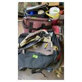 GROUP OF BACKPACKS, DUFFEL BAGS & THERMOS SET