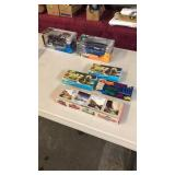 GROUP OF DIE CAST CARS & TRAINS
