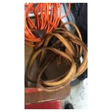 BOX OF EXTENSION CORDS