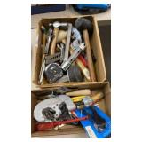 2 BOXES OF MISC. TOOLS