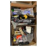 2 BOXES OF MISC TOOLS